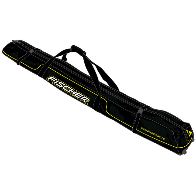 Obal na lyže Fischer 5 párů XC 210 Performance + kolečka